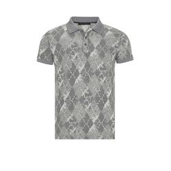 Cipo & Baxx Poloshirt im Harlekin-Design M