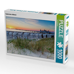 Seebrücke Ahlbeck Lege-Größe 64 x 48 cm Foto-Puzzle Bild von Tilo Grellmann Puzzle