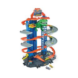 Mattel® Spiel-Parkgarage Hot Wheels Megacity Parkgarage mit T-Rex-Angriff,