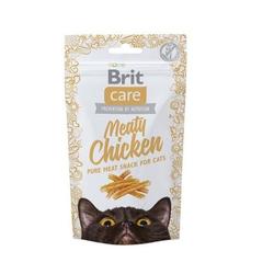 50g  Brit Care Cat Snack Meaty Chicken Katzensnacks