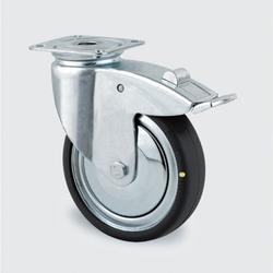 Antistatisches armaturenrad, drehbar mit bremse, 100 mm