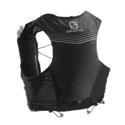 Salomon - Adv Skin 5 Set Black - Trinkgürtel / Rucksäcke - Größe: XL