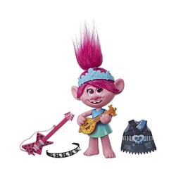 Hasbro Sammelfigur Trolls Pop to Rock POPPY