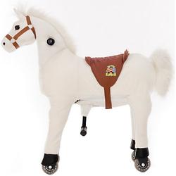 Reittier Pferd Snowy auf Rollen, Small