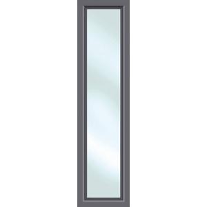 KM Zaun Türseitenteil S01, für Alu-Haustür, anthrazit