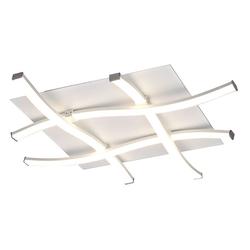 Mantra Deckenleuchte Nur quadratische LED-Deckenleuchte weiß