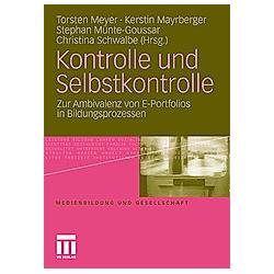 Kontrolle und Selbstkontrolle - Buch