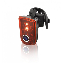 XLC Fahrradbeleuchtung XLC Batterie Rücklicht Sirius B 2 LEDs