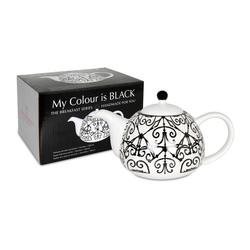 Waechtersbach Teekanne My Colour Is Black! Mallorquin 850 ml, 85 l