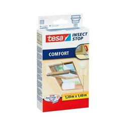 Fliegengitter tesa Insect Stop für Dachfenster 1,20x1,40m weiß