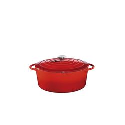 Küchenprofi Bratentopf Bratentopf Oval mit Deckel Provence Ø 33 cm