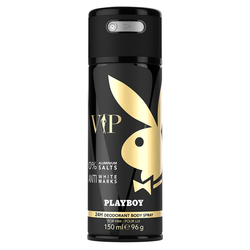 Playboy VIP VIP Male Deo Aerosol Deodorant Spray 150ml