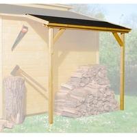 """weka Schleppdach für """"19/21mm"""", lasiert"""