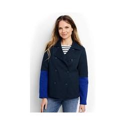 Cabanjacke aus Jersey - M - Blau