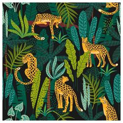 Paper+Design Papierserviette Leoparden, (5 St), 33 cm x 33 cm