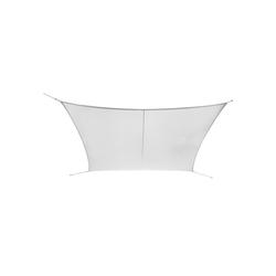 Ribelli Sonnensegel, Sonnensegel, weiß, 5 x 6 m weiß 600 cm x 500 cm