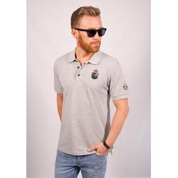 Sergio Tacchini Poloshirt Fancher/MC/MCH Polo grau M