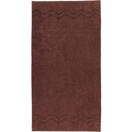ROSS Cashmere 9008 Duschtuch 75 x 140 cm schokolade