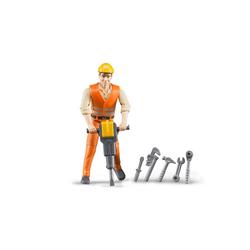 Bruder® Spielfigur bworld Bauarbeiter