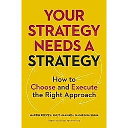 Your Strategy Needs a Strategy. Knut Haanaes  Janmejaya Sinha  Martin Reeves  - Buch