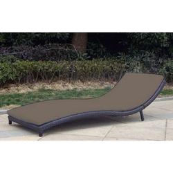 Baidani Rattan Garten Liege Wave Select