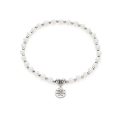 CIAO! BY LEONARDO Armband Pelena CIAO, 021176, mit Kristallglas - mit Perle (imitiert)