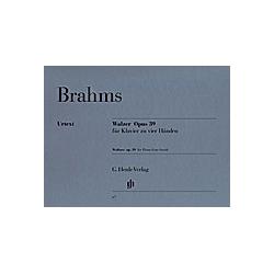 Walzer op.39  Klavier zu vier Händen. Johannes - Walzer op. 39 Brahms  - Buch