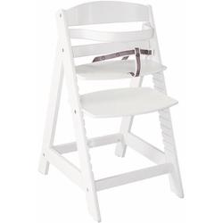 roba® Hochstuhl Treppenhochstuhl Sit up III, weiß aus Holz