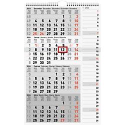 "Rido ide Kalender ""Kombi-Hobel"" 4 Monate pro Seite 2022 Weiß"