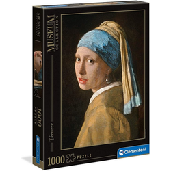 Clementoni® Puzzle Museum Collection Mädchen mit dem Perlenohr, Puzzleteile bunt