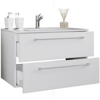 VCM Waschtisch 2 Schubladen 60 x 46 cm weiß