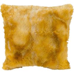 H.O.C.K. Dekokissen Volpina Plush, im romantischen Stil gelb