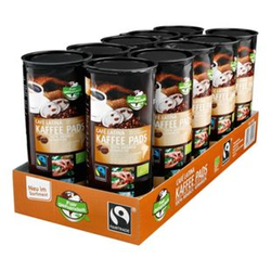 Bio Fairtrade Cafe Latina Kaffeepads 144 g, 10er Pack