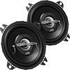 JVC CS-J420X Koaxial Lautsprecher (10 cm, 2-Wege) schwarz - Vorschaubild 0