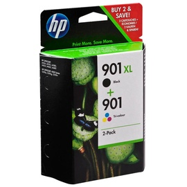 HP 901XL schwarz + 901 CMY (SD519AE)