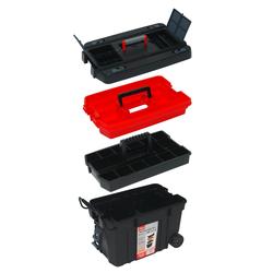 Werkzeugkoffer 4in1 Werkzeugtrolley / Werkzeugkiste fahrbar
