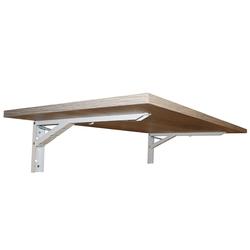 KDR Produktgestaltung Klapptisch Wandklapptisch Wandtisch Klapptisch Küchentisch Schreibtisch Büro Homeoffice, Sonoma Eiche braun