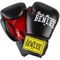 Boxhandschuhe Fighter schwarz/rot 8 oz