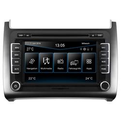 ESX Audio-System (ESX VW Polo 6C (ab 04/2014) 2-DIN Autoradio Navi VN720-VO-P6C-SILVER)