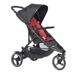 phil&teds Dot buggy ( 8 Farben ) Chilli