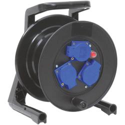 Kabeltrommel-Hartgummi 25 m Gummikabel 3x1.5 qmm H