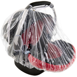 Hauck Kindersitzbezug Rainy, Regenschutz für Babyliegeschalen Gruppe 0+