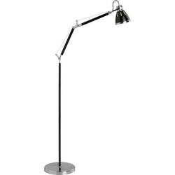 Brilliant Octavia 92736/76 Stehlampe Halogen E27 40W Schwarz