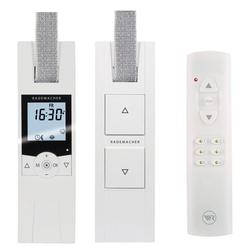 Rademacher Elektrische Gurtwickler - Starterset. Smarte Rolladensteuerung mit Rolladen Gurtwickler (230V) und Handsender Smart-Home Starter-Set