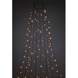 KONSTSMIDE LED-Lichterkette Baummantel mit Ring und 8 Strängen 9 m
