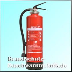Jockel Feuerlöscher Gel-Löscher - G 6 HDJ Gel (mit Handhebelfunktion)
