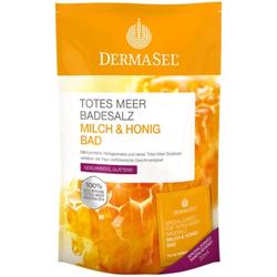 DERMASEL Totes Meer Badesalz+Milch&Honig