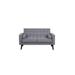HTI-Line 2-Sitzer Zweisitzer Azaria, Sofa grau