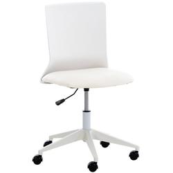 CLP Schreibtischstuhl Apolda, ergonomisch weiß