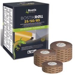 Bostik Roll 50 Sockelleisten Fußleisten Klebeband 50mm x 50m Rolle